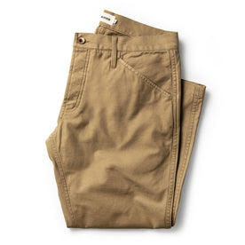 The Camp Pant in Khaki Reverse Sateen: Featured Image