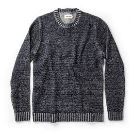 The Headland Sweater in Marled Navy: Featured Image