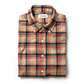The Jack in Brushed Khaki Plaid - featured image