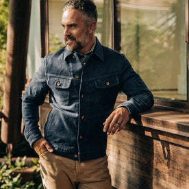 The Long Haul Jacket in Indigo Boss Duck - featured image