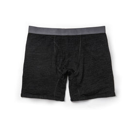 The Merino Boxer in Heather Black - featured image