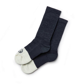 The Merino Sock in Navy: Featured Image