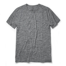 The Merino Tee in Heather Grey: Featured Image