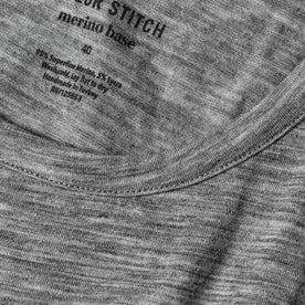 material shot of fabric detail with collar