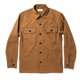 The Shop Shirt in British Khaki Boss Duck: Featured Image