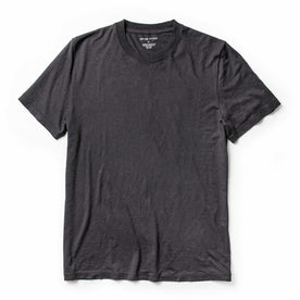 The Cotton Hemp Tee in Charcoal - featured image