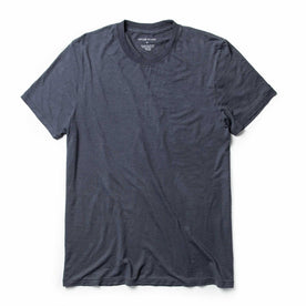 The Cotton Hemp Tee in Navy: Featured Image
