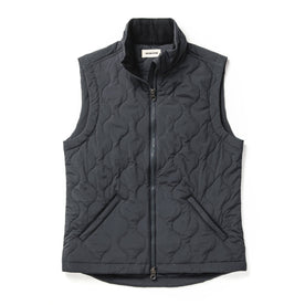 The Vertical Vest in Charcoal: Featured Image