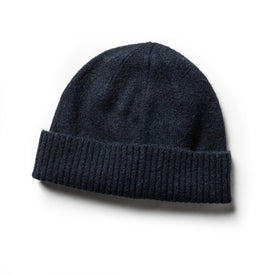 The Beanie in Navy Baby Yak - featured image
