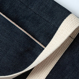 material shot of selvage coloring