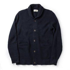 The Crawford Sweater in Navy - featured image