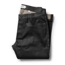 The Slim Jean in Black Over-dye Selvage - featured image