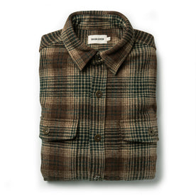 The Explorer Shirt in Tan Plaid: Featured Image