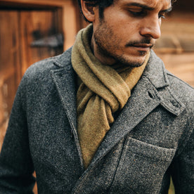 The Gibson Jacket in Charcoal Birdseye Wool: Alternate Image 11
