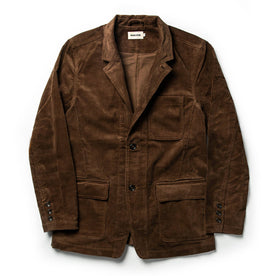 The Gibson Jacket in Chocolate Cord - featured image