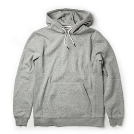 The Heavy Bag Hoodie in Heather Grey Fleece - featured image