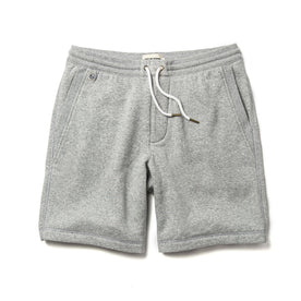 The Heavy Bag Short in Heather Grey Fleece - featured image