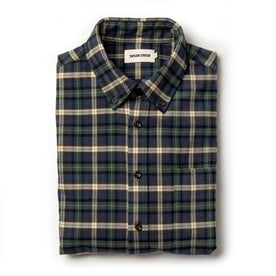 The Jack in Brushed Green Plaid - featured image