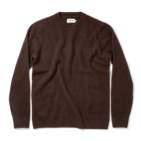 The Lodge Sweater in Chocolate - featured image