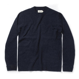 The Lodge Sweater in Navy - featured image