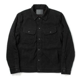 The Long Haul Jacket in Black Indigo Sashiko - featured image