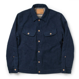 The Long Haul Jacket in Indigo Sashiko - featured image