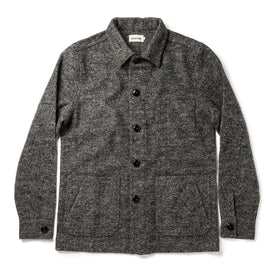 The Ojai Jacket in Charcoal Wool: Featured Image