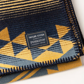 material shot of The Wildland Heroes Firefighter Blanket in Golden State—logo cropped shot