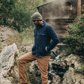 The Quilted Jacket in Indigo Boss Duck: Alternate Image 9