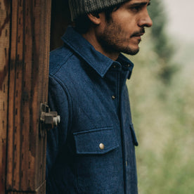 The Quilted Jacket in Indigo Boss Duck: Alternate Image 10
