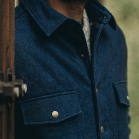 The Quilted Jacket in Indigo Boss Duck: Alternate Image 11