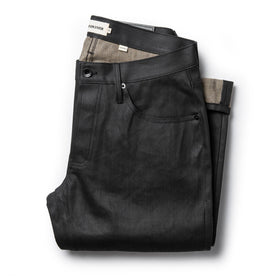 The Democratic Jean in Black Over-dye Selvage - featured image