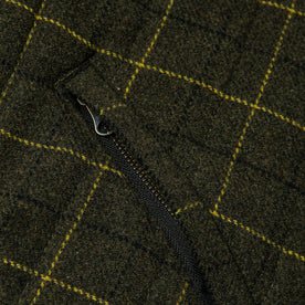 material shot of fabric detail, pocket