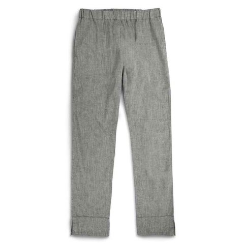 The Isla Pant in Charcoal Cotton - featured image