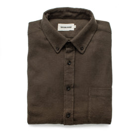 The Jack in Olive Brushed Organic Cotton - featured image