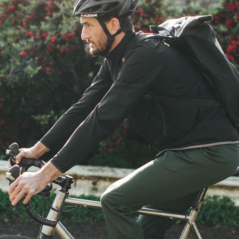The Commuter Jacket in Black MerinoPerform™ - alternate view
