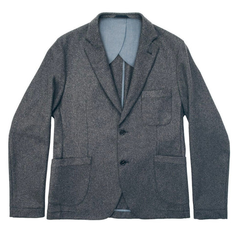 The Telegraph Jacket in Grey Wool - featured image