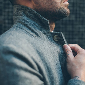 The Telegraph Jacket in Ash Tweed Herringbone: Alternate Image 7