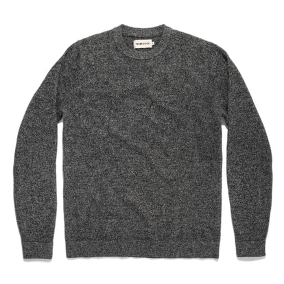 The Lodge Sweater in Charcoal: Featured Image