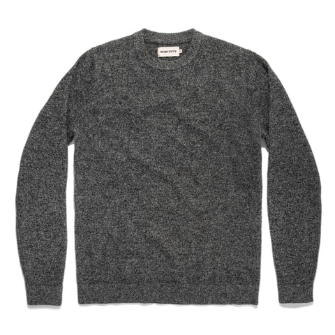 The Lodge Sweater in Charcoal - featured image