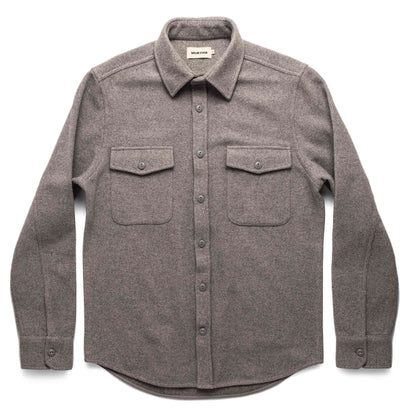 The Maritime Shirt Jacket in Heather Ash Wave: Alternate Image 10