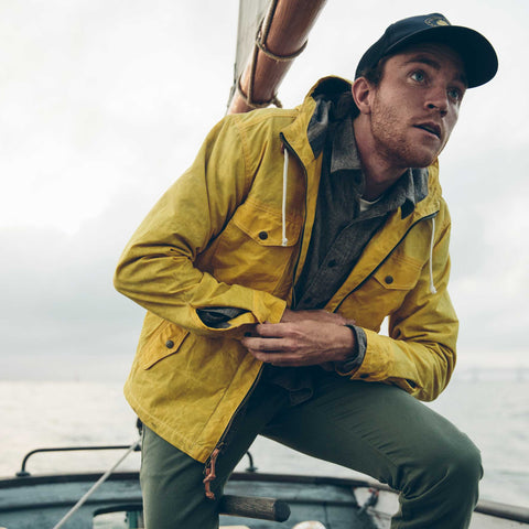 The Winslow Parka in Mustard - alternate view