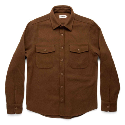 The Maritime Shirt Jacket in Rust: Alternate Image 10