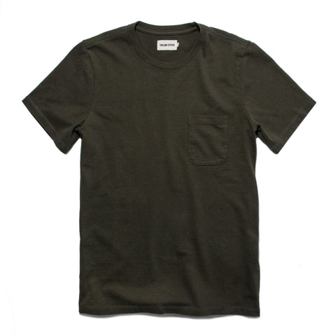 The Heavy Bag Tee in Cypress - featured image