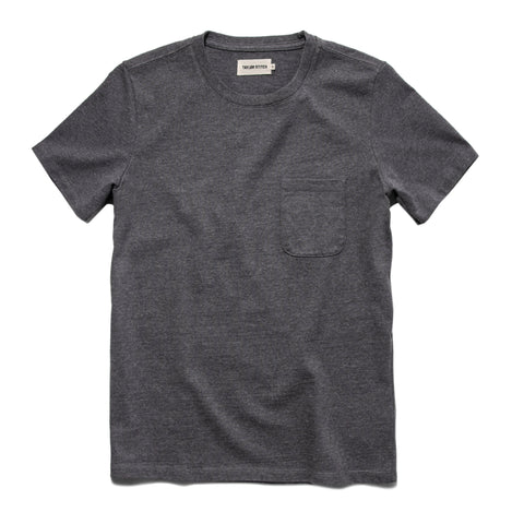 The Heavy Bag Tee in Heather Grey - featured image