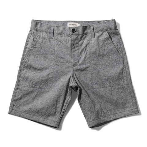 The Camp Short in Slub Chambray - featured image