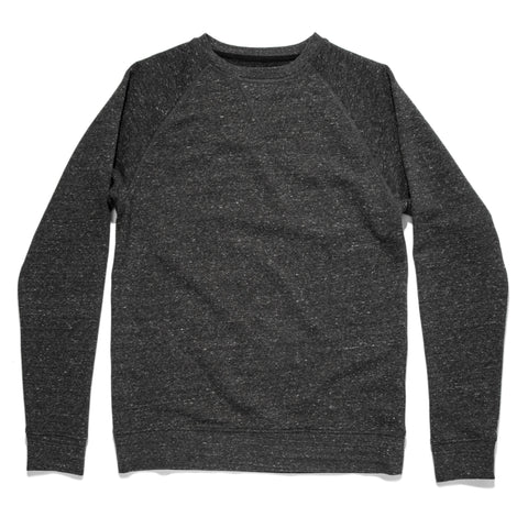 The Crewneck in French Terry Heather Grey - featured image