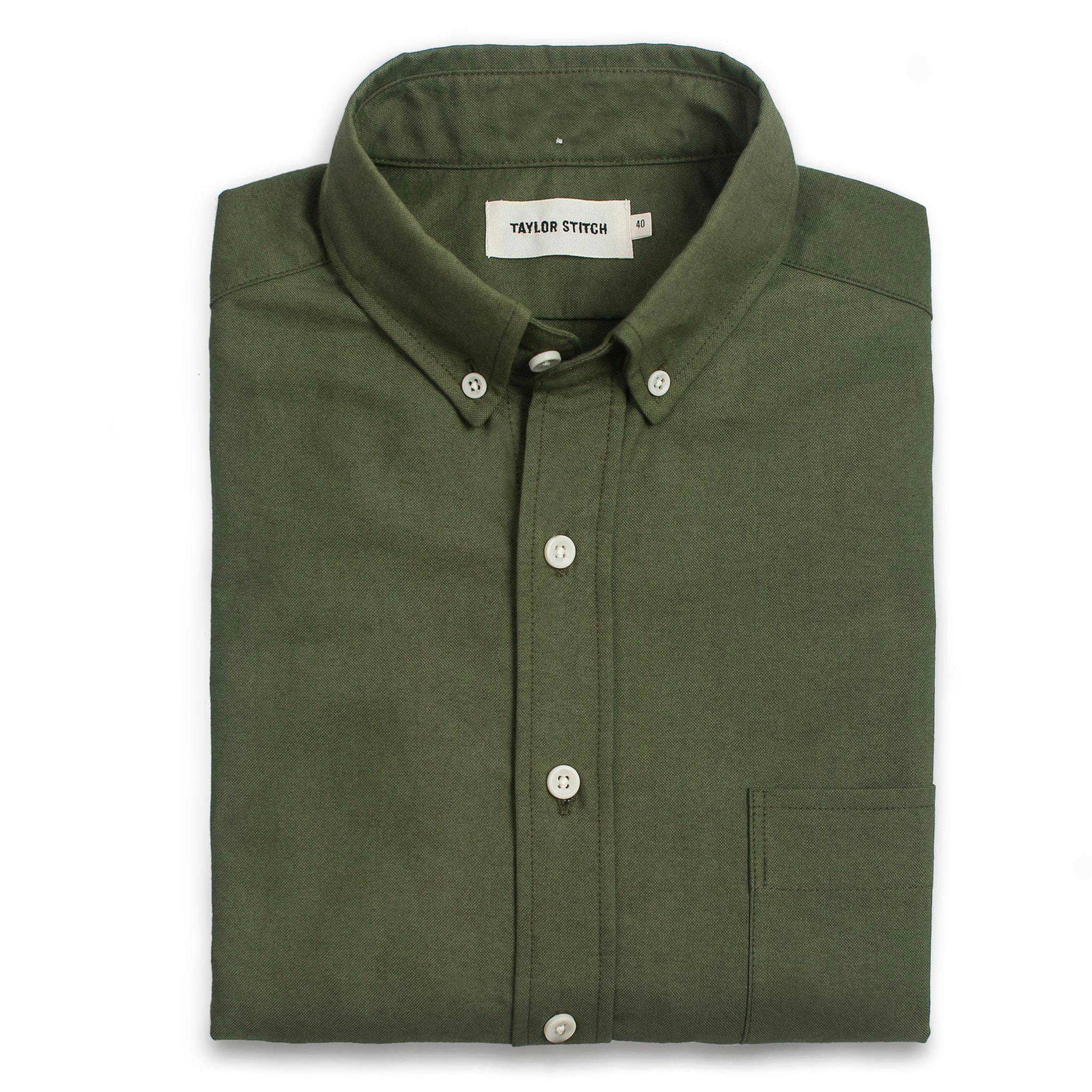 The Jack in Army Everyday Oxford - Classic Men's Clothing…