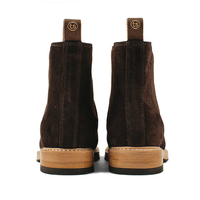 The Ranch Boot in Weatherproof Chocolate Suede: Alternate Image 10