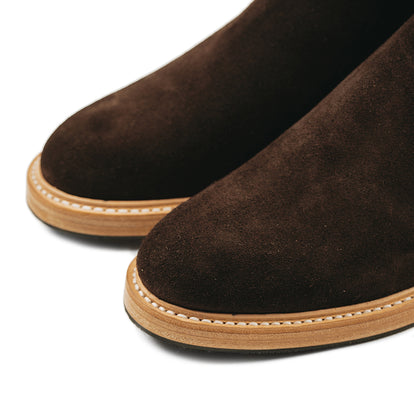 The Ranch Boot in Weatherproof Chocolate Suede: Alternate Image 13